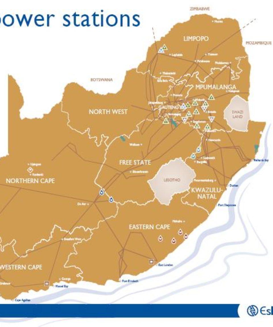 Eskom Power_Plants_MAP